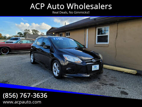 2014 Ford Focus for sale at ACP Auto Wholesalers in Berlin NJ