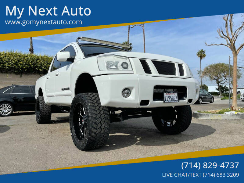 2009 Nissan Titan for sale at My Next Auto in Anaheim CA