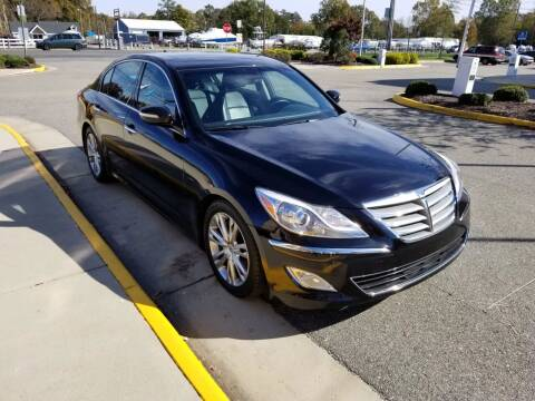 2013 Hyundai Genesis for sale at RVA Automotive Group in North Chesterfield VA