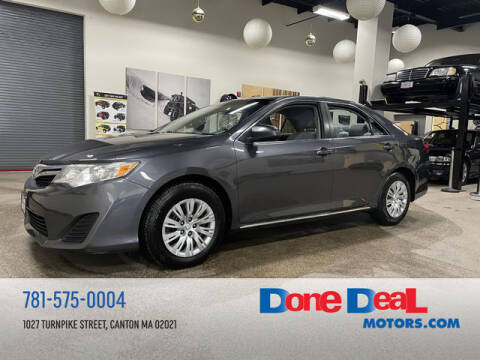 2013 Toyota Camry for sale at DONE DEAL MOTORS in Canton MA