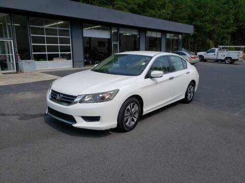 2013 Honda Accord for sale at Curtis Lewis Motor Co in Rockmart GA
