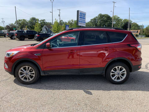 2018 Ford Escape for sale at SS Auto Pro of Grand Rapids in Kentwood MI