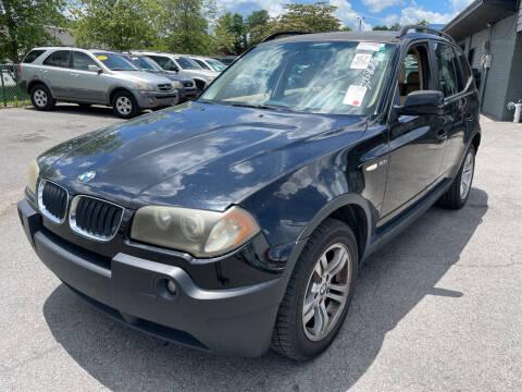2004 BMW X3 for sale at Diana Rico LLC in Dalton GA