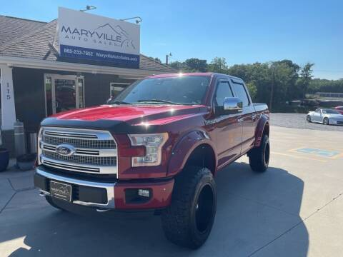 2015 Ford F-150 for sale at Maryville Auto Sales in Maryville TN