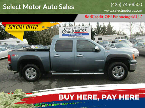 2011 GMC Sierra 1500 for sale at Select Motor Auto Sales in Lynnwood WA