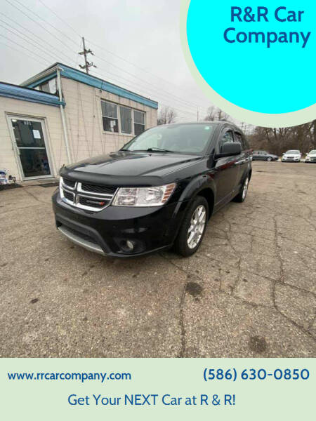 2014 Dodge Journey for sale at R&R Car Company in Mount Clemens MI