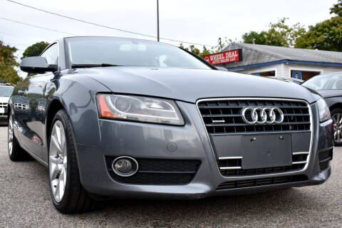 2012 Audi A5 for sale at Wheel Deal Auto Sales LLC in Norfolk VA