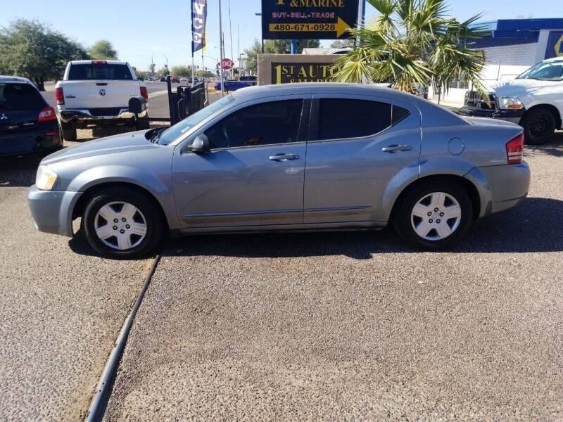 2009 Dodge Avenger for sale at 1ST AUTO & MARINE in Apache Junction AZ