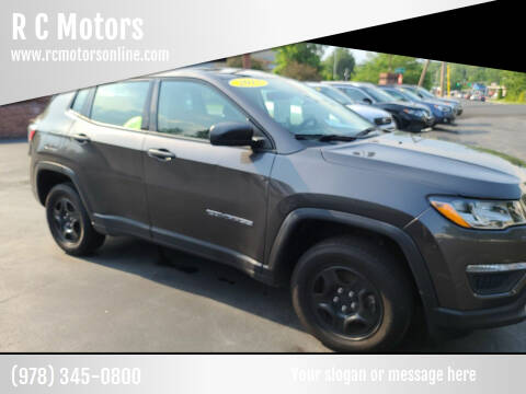 2017 Jeep Compass for sale at R C Motors in Lunenburg MA