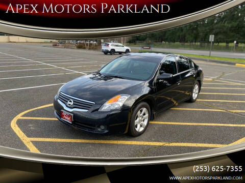 2007 Nissan Altima for sale at Apex Motors Parkland in Tacoma WA