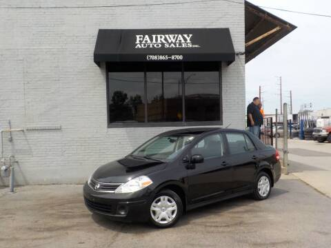 2010 Nissan Versa for sale at FAIRWAY AUTO SALES, INC. in Melrose Park IL