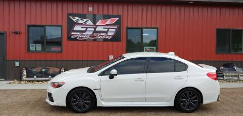 2017 Subaru WRX for sale at SS Auto Sales in Brookings SD