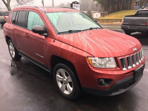 2012 Jeep Compass for sale at Depot Auto Sales Inc in Palmer MA