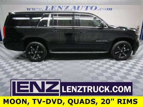 2015 Chevrolet Suburban for sale at LENZ TRUCK CENTER in Fond Du Lac WI