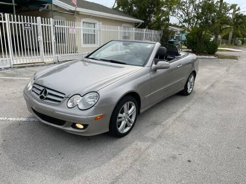 2006 Mercedes-Benz CLK for sale at UNITED AUTO BROKERS in Hollywood FL
