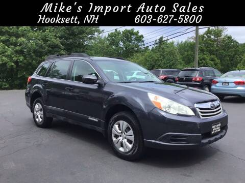 2011 Subaru Outback for sale at Mikes Import Auto Sales INC in Hooksett NH
