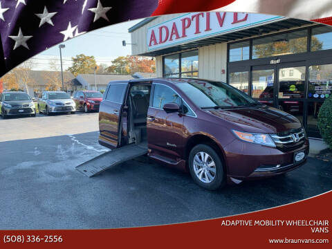 2014 Honda Odyssey for sale at Adaptive Mobility Wheelchair Vans in Seekonk MA