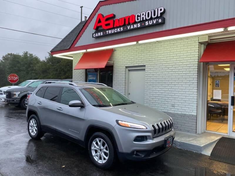 2015 Jeep Cherokee for sale at AG AUTOGROUP in Vineland NJ