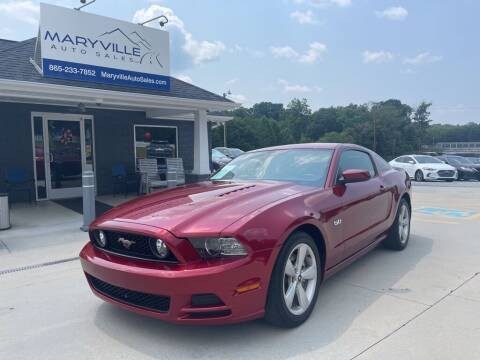 2014 Ford Mustang for sale at Maryville Auto Sales in Maryville TN