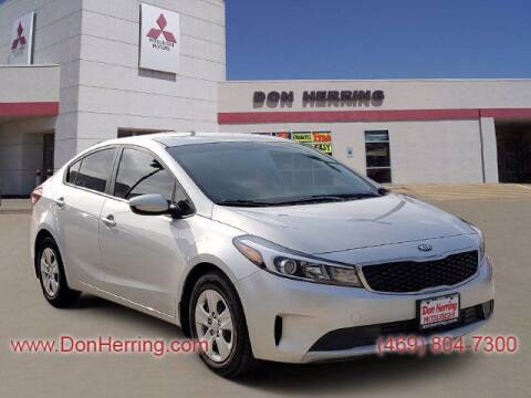 2018 Kia Forte for sale at DON HERRING MITSUBISHI in Irving TX
