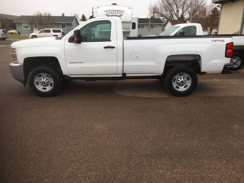 2017 Chevrolet Silverado 2500HD for sale at A Plus Auto LLC in Great Falls MT