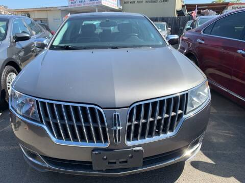 2011 Lincoln MKZ for sale at GRAND AUTO SALES - CALL or TEXT us at 619-503-3657 in Spring Valley CA