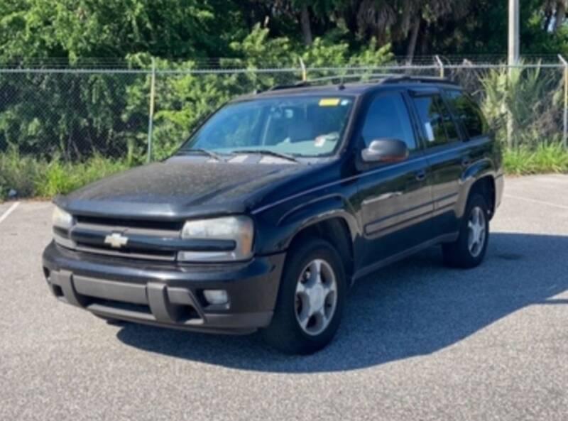 2005 Chevrolet TrailBlazer for sale at DON BAILEY AUTO SALES in Phenix City AL