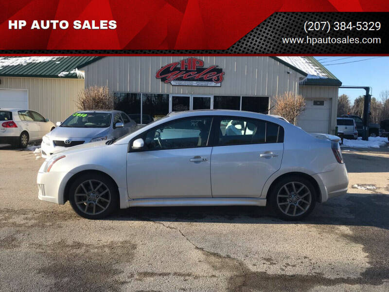2012 Nissan Sentra for sale at HP AUTO SALES in Berwick ME