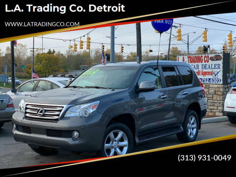 2010 Lexus GX 460 for sale at L.A. Trading Co. Woodhaven - L.A. Trading Co. Detroit in Detroit MI
