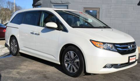 2014 Honda Odyssey for sale at Heritage Automotive Sales in Columbus in Columbus IN