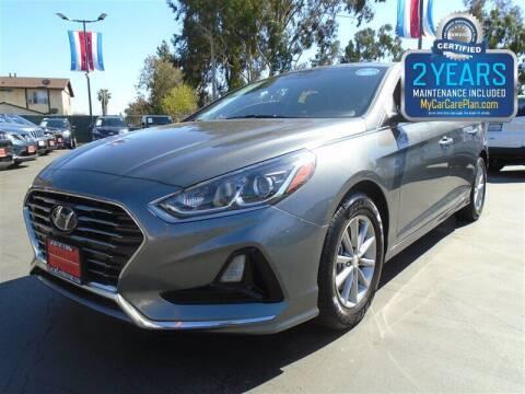 2018 Hyundai Sonata for sale at Centre City Motors in Escondido CA