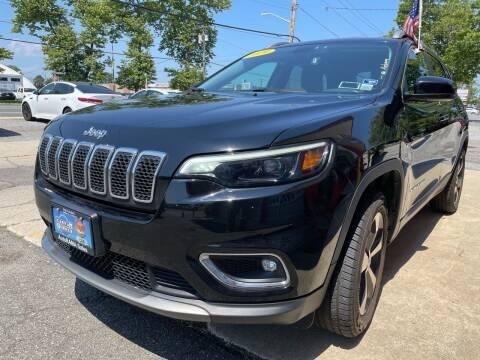 2019 Jeep Cherokee for sale at AUTORAMA SALES INC. - Farmingdale in Farmingdale NY