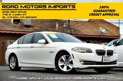 2011 BMW 5 Series for sale at Road Motors Imports in El Cajon CA