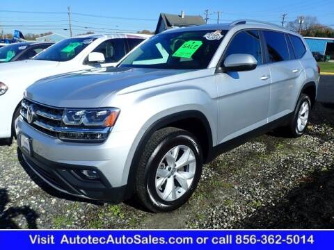 2019 Volkswagen Atlas for sale at Autotec Auto Sales in Vineland NJ