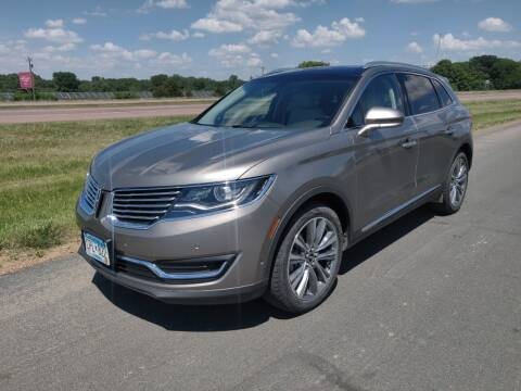 2016 Lincoln MKX for sale at Whi-Con Auto Brokers in Shakopee MN