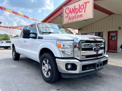 2012 Ford F-250 Super Duty for sale at Sandlot Autos in Tyler TX