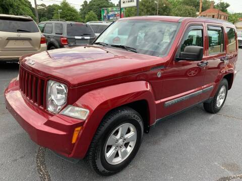 2012 Jeep Liberty for sale at Modern Automotive in Boiling Springs SC