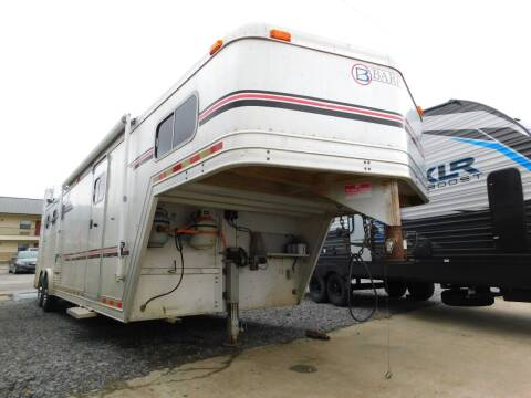 1999 Barrett Horse Trailer for sale at Motorsports Unlimited in McAlester OK