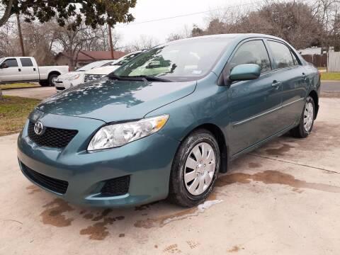 2009 Toyota Corolla for sale at John 3:16 Motors in San Antonio TX