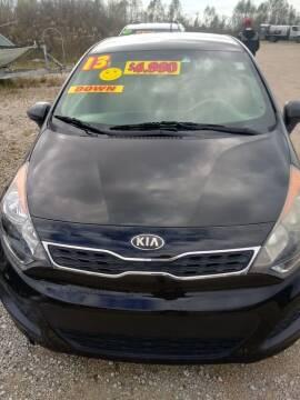 2013 Kia Rio5 for sale at Finish Line Auto LLC in Luling LA