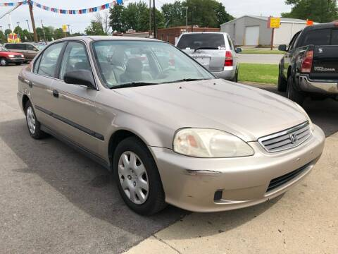 2000 Honda Civic for sale at Wise Investments Auto Sales in Sellersburg IN