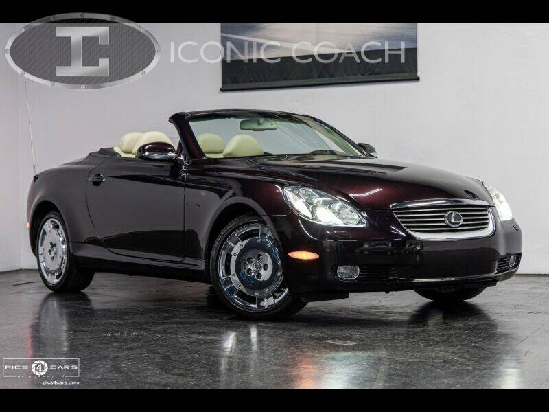2002 Lexus SC 430 for sale at Iconic Coach in San Diego CA