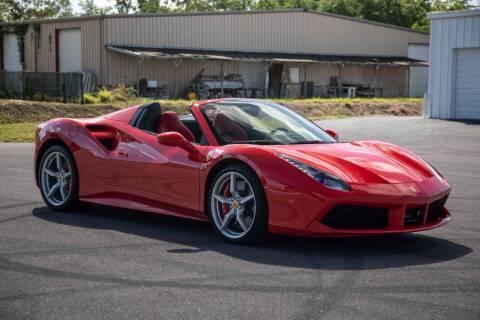 2019 Ferrari 488 Spider for sale at Exquisite Auto in Sarasota FL