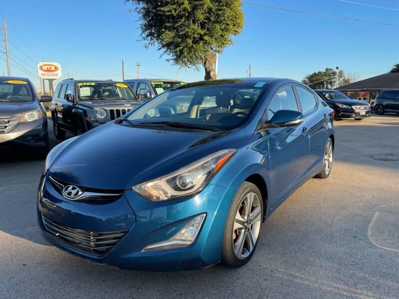2014 Hyundai Elantra for sale at CityWide Motors in Garland TX