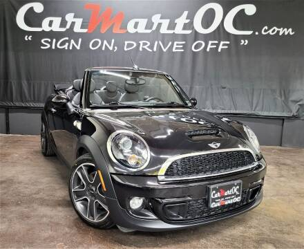 2012 MINI Cooper Convertible for sale at CarMart OC in Costa Mesa, Orange County CA