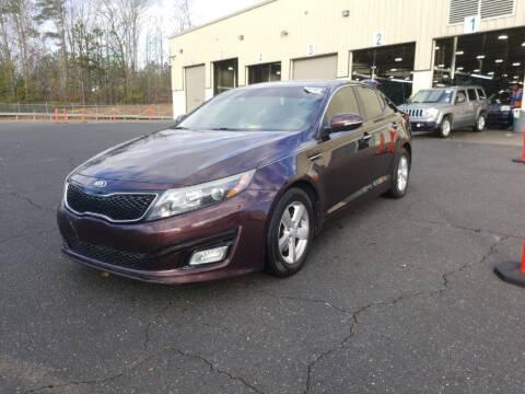 2014 Kia Optima for sale at Fletcher Auto Sales in Augusta GA