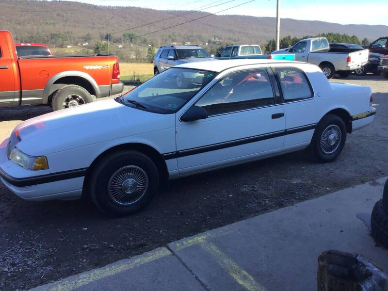 1989 Mercury Cougar for sale at Troys Auto Sales in Dornsife PA