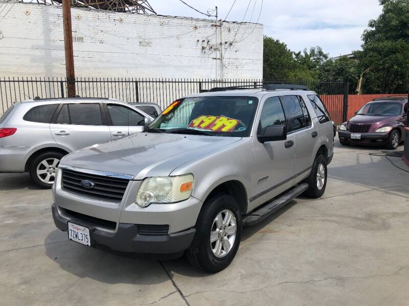 2006 Ford Explorer for sale at The Lot Auto Sales in Long Beach CA