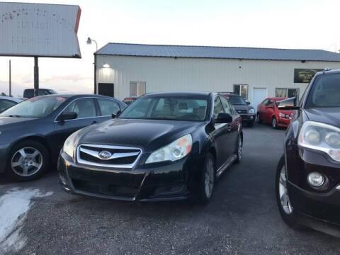 2011 Subaru Legacy for sale at BELOW BOOK AUTO SALES in Idaho Falls ID