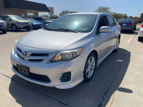 2013 Toyota Corolla for sale at Houston Auto Gallery in Katy TX